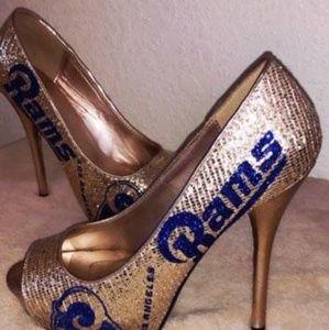 Football team high heels
